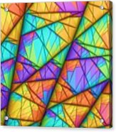 Colorful Slices Acrylic Print