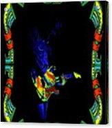 Colorful Slide Playing Acrylic Print