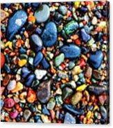 Colorful Stones I Acrylic Print