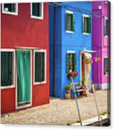 Colorful Street Acrylic Print
