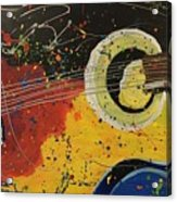 Colorful Strum Acrylic Print