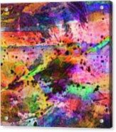 Colorful Sunset Debris  Acrylic Print