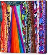 Colorful Tapestries Acrylic Print