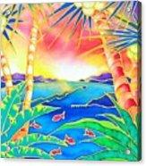 Colorful Tropics 12 Acrylic Print