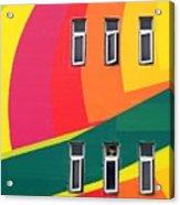 Colorful Wall Acrylic Print