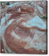 Colorful Wash 2 Of Valley Of Fire Acrylic Print