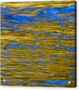 Colorful Water Surface Acrylic Print