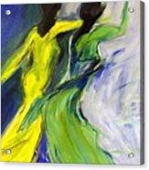 Colorful Women Acrylic Print