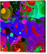 Colorful World Of A Fish Acrylic Print
