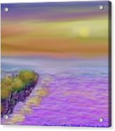 Colors before sunset Acrylic Print