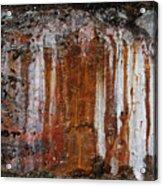 Colors Below A Gold Mine Acrylic Print