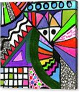Colors Gone Wild Acrylic Print