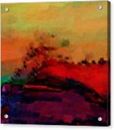 Colors in Aquarell Acrylic Print