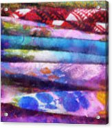 Colors Material Horizontal Pa 02 Acrylic Print
