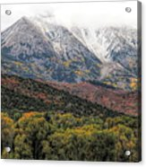 Colors Of Autumn On Mcclure Pass Acrylic Print