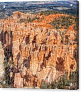 Colors Of Bryce Acrylic Print