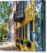 Colors Of Charleston 5 Acrylic Print by Mel Steinhauer