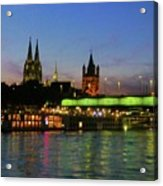 Colors Of Cologne Acrylic Print