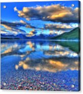 Colors Of Clouds Acrylic Print by Scott Mahon