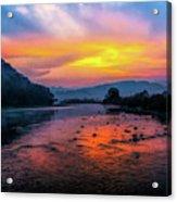 Colors Of Dawn Acrylic Print