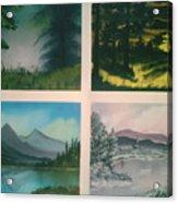 Colors Of Landscape 2 Acrylic Print