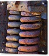 Colors Of Rust Acrylic Print