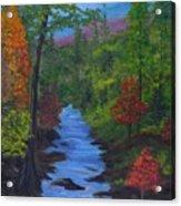 Colors Of The Blue Ridge Acrylic Print