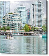 Colors Of Vancouver Acrylic Print