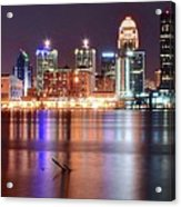 Colors On The Louisville Riverfront Acrylic Print
