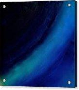Colors Blue Point Of Origin 7/1/2015 Acrylic Print