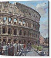Colosseo Rome Acrylic Print