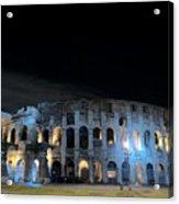 Colosseum By Night II Acrylic Print
