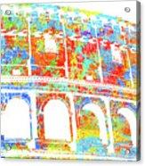 Colosseum - Colorsplash Acrylic Print