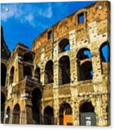 Colosseum In Rome Italy Acrylic Print