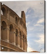 Colosseum In The Historic Centre Of Rome Acrylic Print
