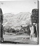 Colossi Of Memnon 2 Acrylic Print