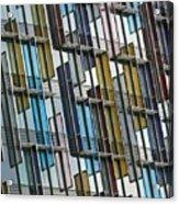 Colour Collage Acrylic Print