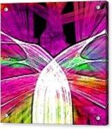 Colour Fabrics Painting Acrylic Print