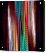 Colour Stream Acrylic Print