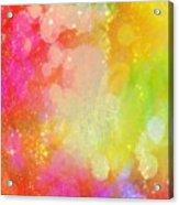 Colour Sugar Acrylic Print