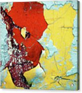 Colour Wars Acrylic Print