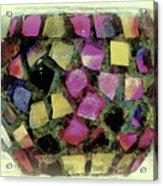 Coloured Glass Bowl Acrylic Print