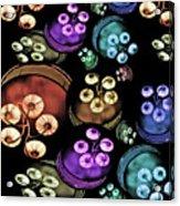 Coloured Lights Acrylic Print