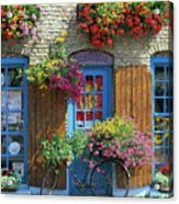 Colourful Boutique,france. Acrylic Print