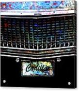 Colourful Caddy Acrylic Print
