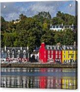 Colourful Tobermory Acrylic Print