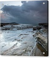 Colours Of A Storm - Seascape Acrylic Print