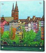 Basel, Colours of Basel Acrylic Print