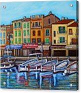 Colours Of Cassis Acrylic Print