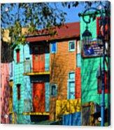 Colours Of La Boca Acrylic Print
